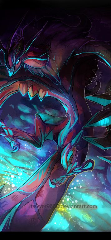 Yveltal by ItsOver900O.deviantart.com on @deviantART