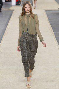 chloe ss14 fashion show runway