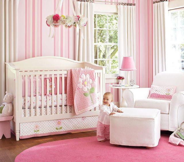 20 Most Popular Baby Girl Nursery Bedroom Themes Decor Ideas http://ift.tt/2nEV9Fl Decor Room