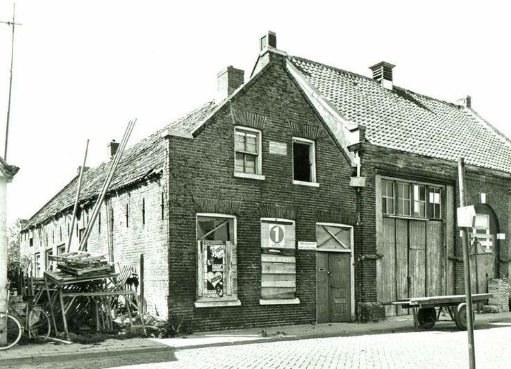 De synagoge aan de Kerkstraat in 1970