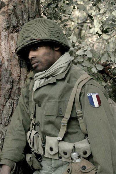 French Army 1944   [ REENACTING ]