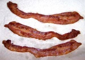How to Make Venison Bacon?  Venison bacon is a mixture of deer meat, pork meat and pork fat. It can substitute for bacon in any recipe, or it can be fried and eaten plain. It is made by allowing the meat mixture to cure and then smoke for several hours. This recipe yields 25 lb. of venison bacon and takes about 3 days to complete.