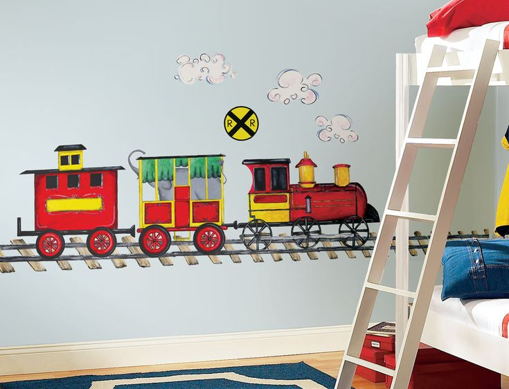 36 Best Train Decorations For Boys Room Images On