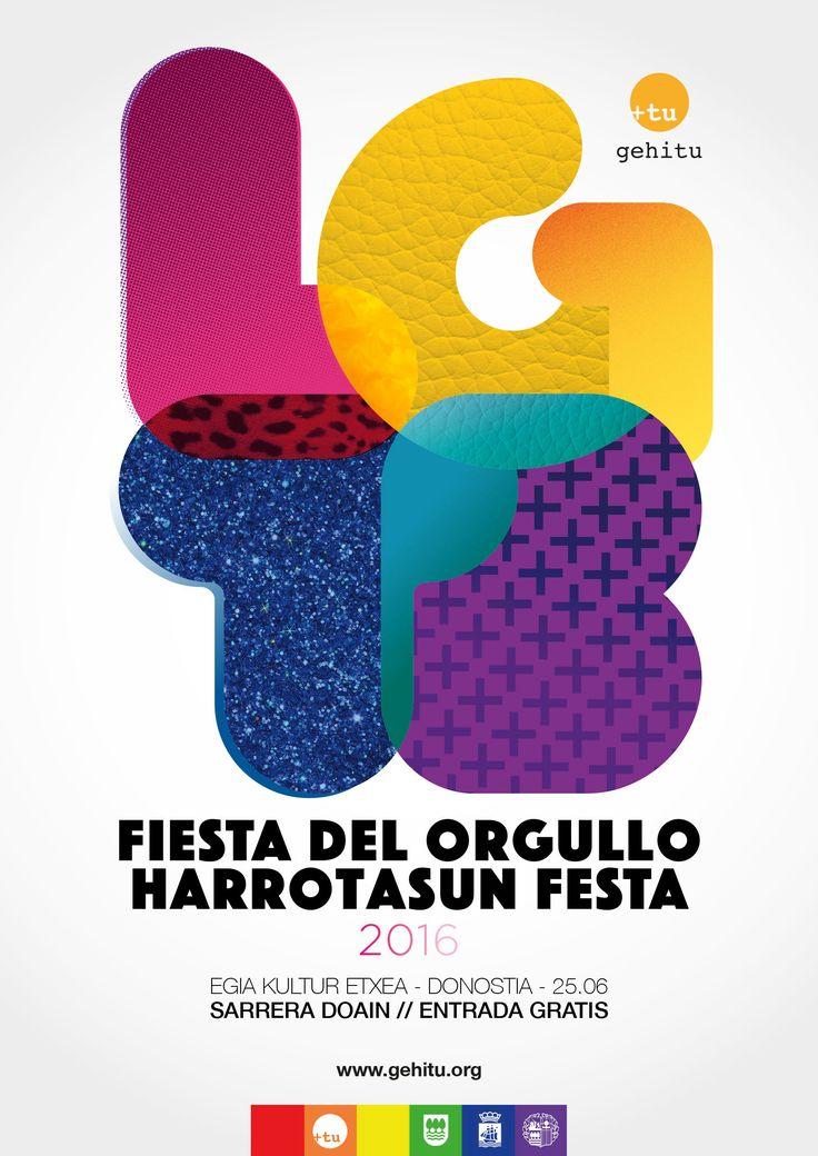 25/06 2016ko HARROTASUN FESTA - FIESTA DEL ORGULLO 2016 - Gehitu.org | Asociación de gays, lesbianas, transexuales y bisexuales del País Vasco.
