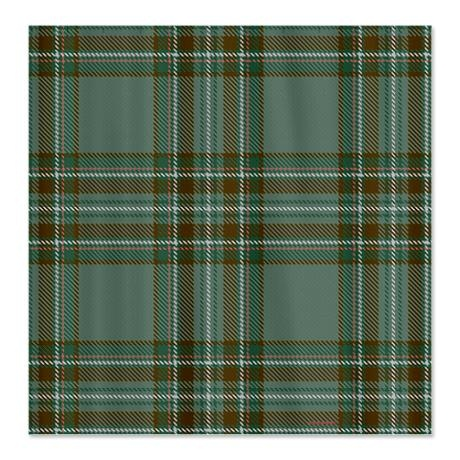 Anderson Celtic Tartan Shower Curtain By Rebeccakorpita Shower Curtain Curtains Designer Shower Curtains