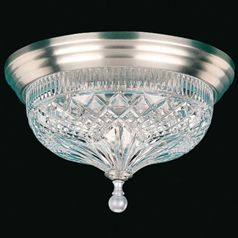 Waterford Beaumont Silver Luna Ceiling Fixture