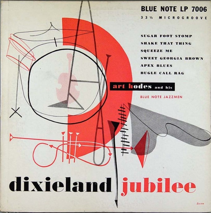 Art Hodes' Blue Note Jazz Men - Dixieland Jubilee (Blue Note 7006)