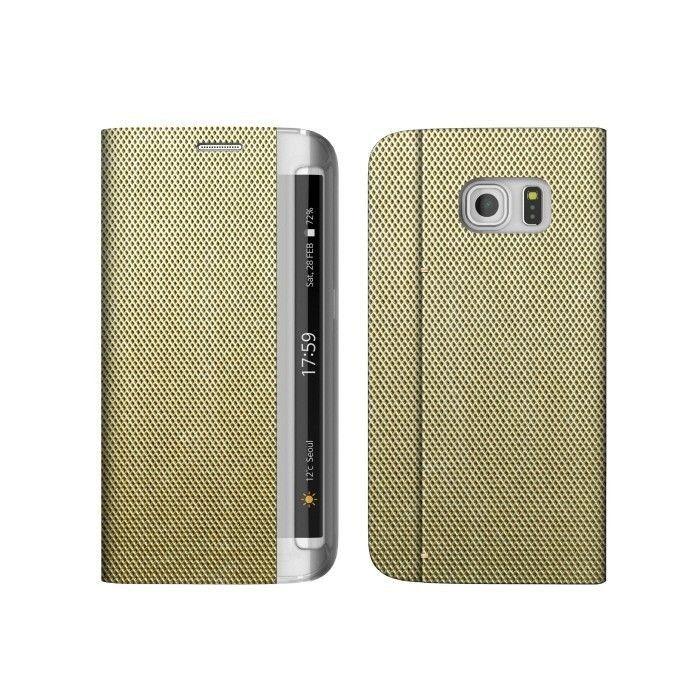 Zenus Masstige Metallic Diary Samsung Galaxy S6 edge  - Brązowy