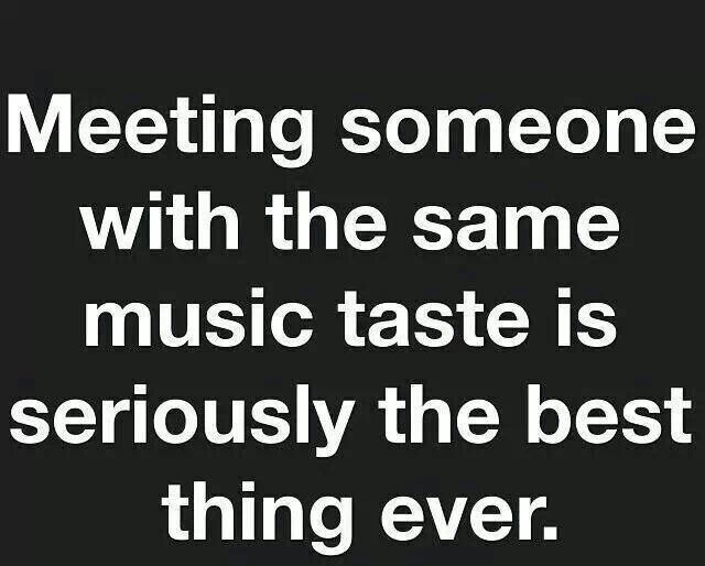 True! Especially to someone like me who listens to music so much and uses music to help express how I feel. If only! I wish! Maybe in this lifetime? Meanwhile I'll still enjoy every sound alone.