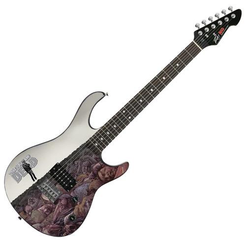 TWD Peavey Guitar Comic Rick Grimes