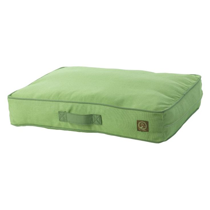 One For Pets Siesta Spanish Indoor/Outdoor Classic Pillow Bed Green - 1808-GREEN-M