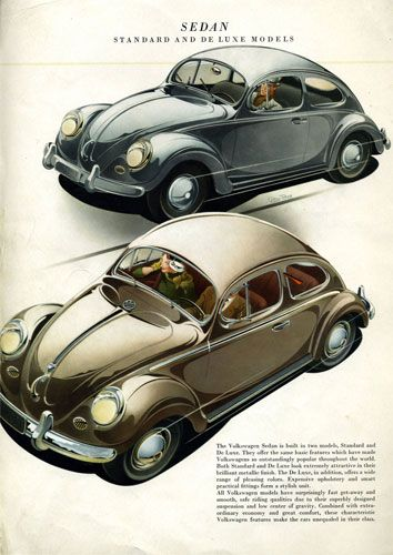 VW Beetle Kever Bug I Love The Graphics