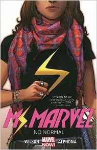 Female super heroine Ms. Marvel shows up evildoers