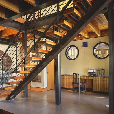 Exposed Steel Beams Design, Pictures, Remodel, Decor and Ideas