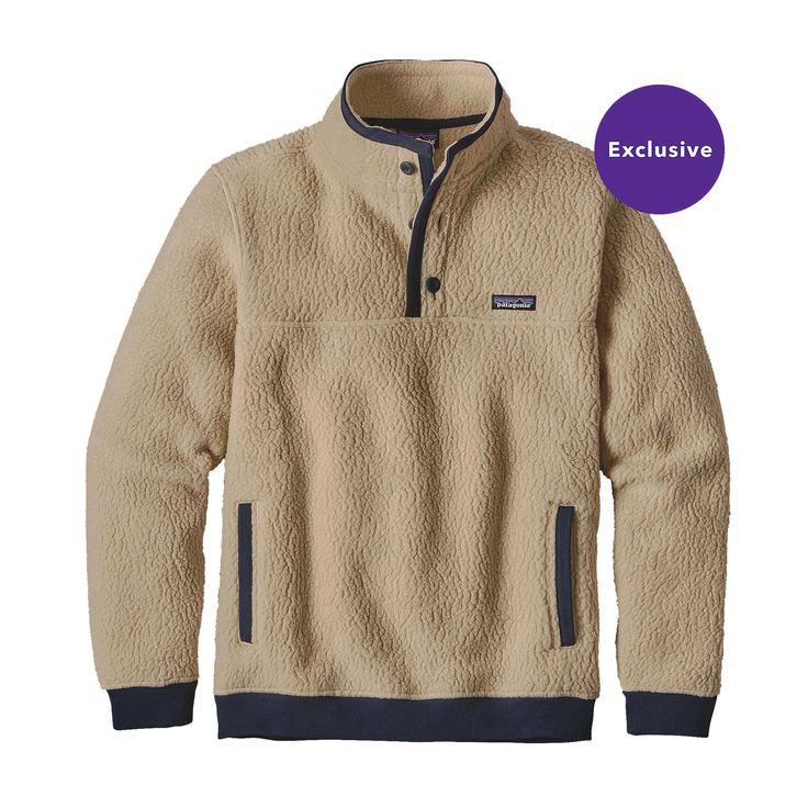 メンズ・シアーリング・フリース・プルオーバー | Men's Shearling Fleece Pullover| パタゴニア | オンラインショップ…