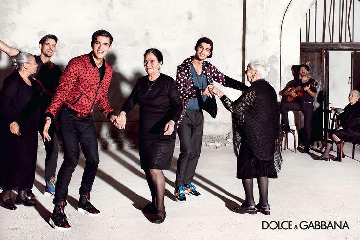Mamma Dolce & Gabbana - Men Summer 2015 | via: dolcegabbana.com