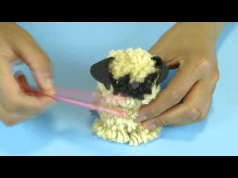 ▶ Pom Pom Puppies - YouTube YES ABSOLUTELY DOING THIS FOR THE NEXT HOLIDAY