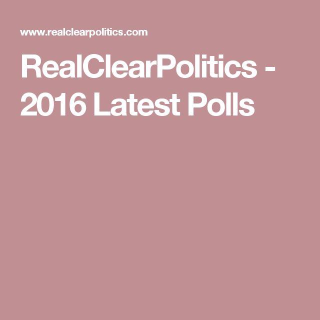 1000+ ideas about Latest Polls on Pinterest   2016 ...