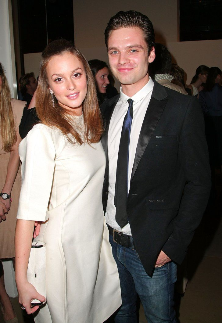 Pin for Later: 18 Actors Who Couldn't Seem to Stop Dating Their Costars Gossip Girl costars Leighton Meester and Sebastian Stan dated for two years before their split in 2010.