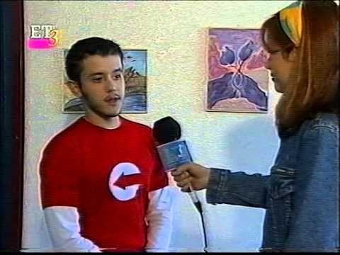 Συνέντευξη του Οδυσσέα Σταυράκη στην ΕΤ-3 για έκθεση Ζωγραφικής στο 1ο  ...