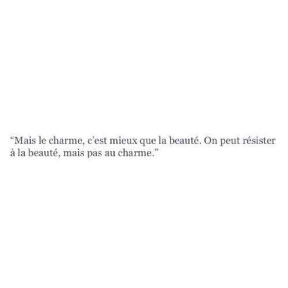 Le charme et la beauté