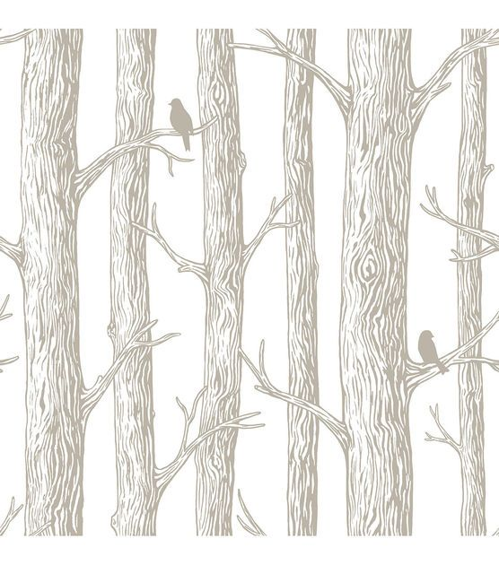 WallPops® NuWallpaper™ The Forest Peel and Stick Wallpaper