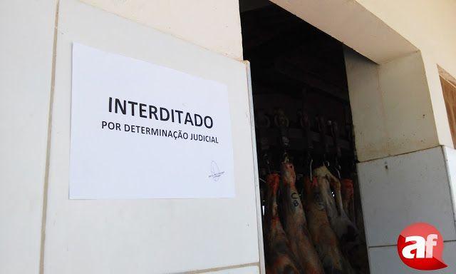 Blog Paulo Benjeri Notícias: Exclusivo: Matadouro Público de Araripina é interd...