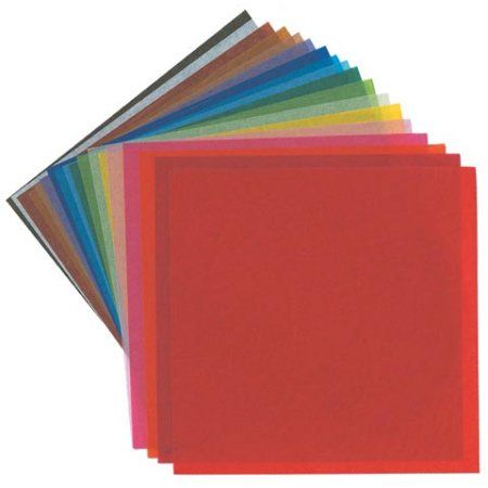 "Yasutomo - Origami Paper Stacks - 4"" x 4"" - Assorted Colors, 500/Pkg. - Walmart.com | @giftryapp"