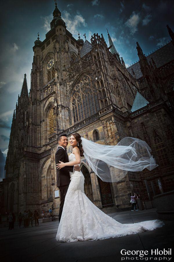 St.Vitus Cathedral at Prague Castle - amazing wedding venue for religious weddings in Prague