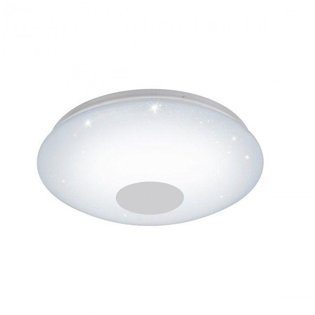 Eglo Connect Voltago C Led Rgb Wand U Deckenlampe 380mm Rund Weiss Bluetooth App Led Deckenlampe Lampe