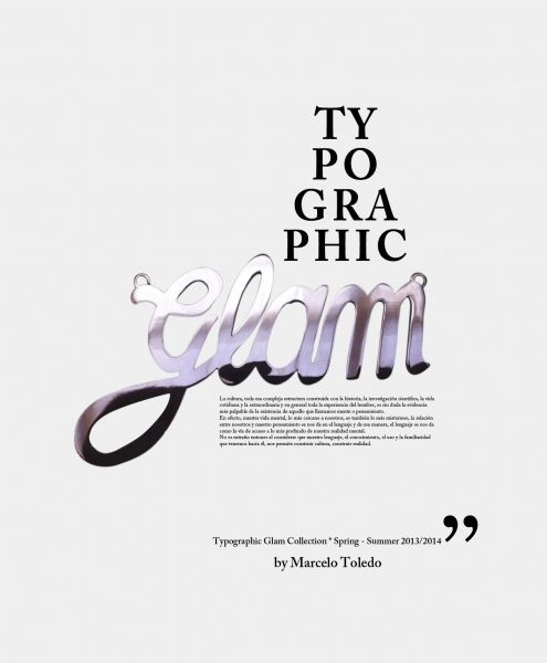 Typographic Glam New Collection