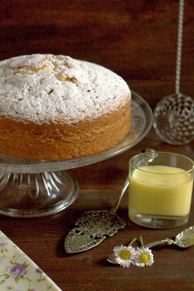 Torta sabbiosa (attenzione alla salsa alla vaniglia!!!!!)