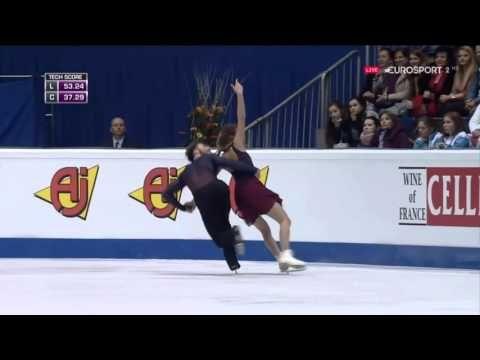 **GOOD ONE - EXCELLENT!*** Gabriella PAPADAKIS / Guillaume CIZERON - 2016 European Championships - FD