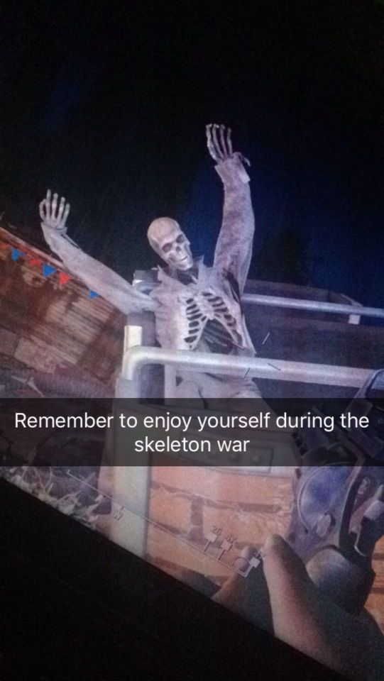 WHAT IS GOING ON WITH THIS SKELETON WAR I DON'T UNDERSTAND