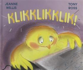 Klikklikklik! - (via @teavdberg) Een grappig getekend eigentijds prentenboek over een kuikentje dat het internet op gaat. Met alle mogelijkheden en risico's van dien. Een verhaal met een actuele boodschap. Geschikt materiaal om te gebruiken voor peuters en kleuters. Het kuikentje bestelt op de computer van de boer de gekste spullen voor alle dieren op de boerderij. Ze denkt zelfs een leuk vriendje via internet te hebben gevonden. En dan is het oppassen! ISBN 9789053413401