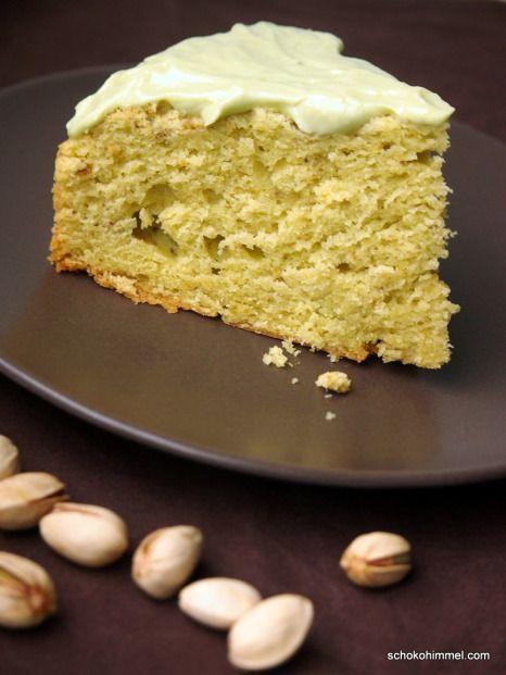 grüner Pistazien-Avocado-Kuchen - Schokohimmel