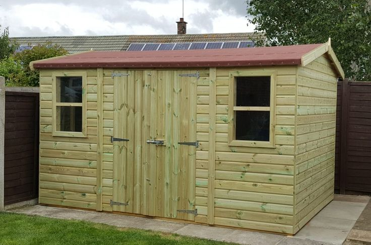 Wooden Heavy Duty Apex Sheds and super heavy duty apex sheds from Sheds Direct, Tanalised Wooden frame and Apex sheds built to last. Free online enquiry.