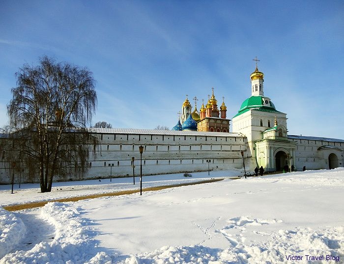 Trinity Sergius Lavra. Sergiev Posad. Russia.