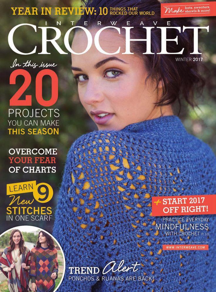 Interweave Crochet Winter 2017 - 轻描淡写 - 轻描淡写