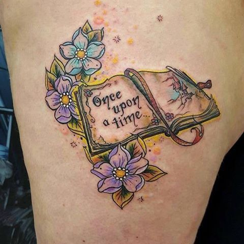 Pin for Later: 40 Fairy Tale Tattoos That Will Make You Believe in Real Magic Once Upon a Time Storybook