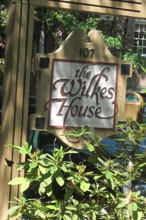 Mrs Wilkes Boarding House Restaurant, Savannah Georgia. No reservations and the wait is long but the food is delicious.