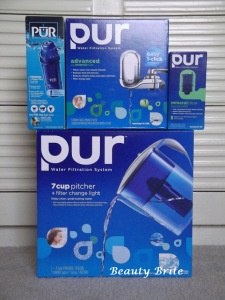 pur water faucet and pitcher filter review