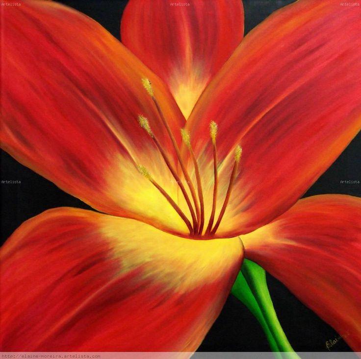 cuadros modernos de flores blancas buscar con google pinturas pinterest paintings flowers and canvases