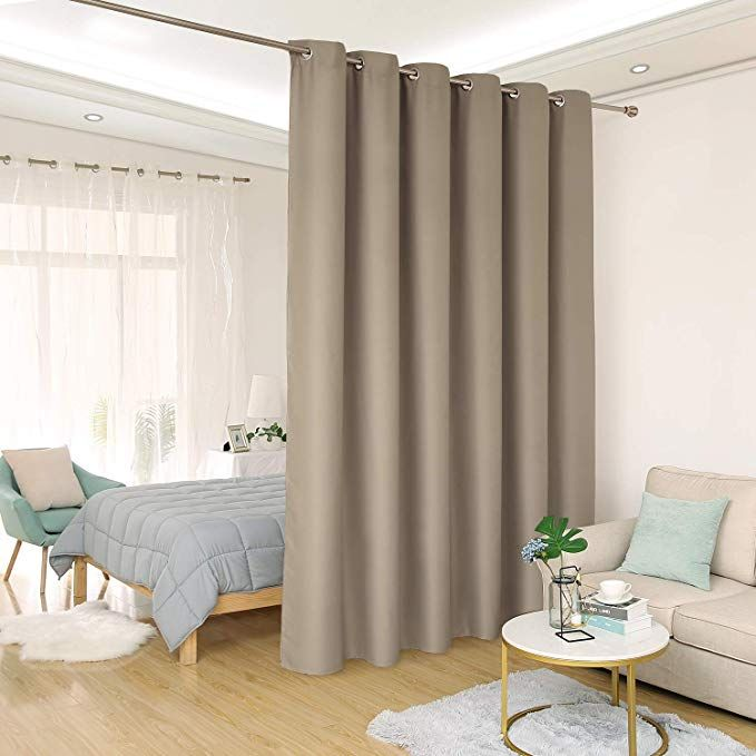 Deconovo Privacy Room Divider Curtain Thermal Insulated Blackout Curtains Screen Partition Room Darkening Pane Room Divider Curtain Curtain Room Room Partition
