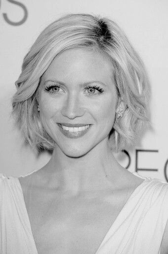 Brittany Snow I wish i could pull off this hair like she does