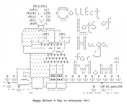 25 best ASCII art images on Pinterest