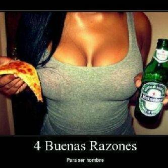 Cuatro buenas razones ...