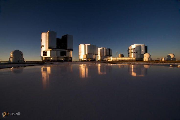 Паранальская обсерватория – #Чили #Антофагаста (#CL_AN) Очень большой телескоп - нормальное такое название для обсерватории, состоящей из четырёх телескопов, каждый из которых  в 4 миллиарда раз чувствительнее, чем невооружённый человеческий глаз.  http://ru.esosedi.org/CL/AN/1000233771/paranalskaya_observatoriya/