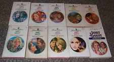 LOT OF 10 JANET DAILEY VINTAGE HARLEQUIN PRESENTS ROMANCE BOOKS 1970'S 1980'S #1