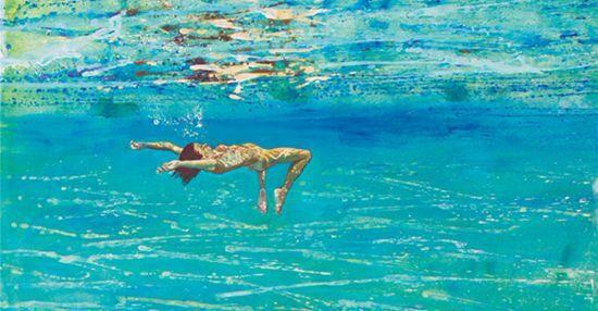 Underwater Swimmer - maria filopoulou